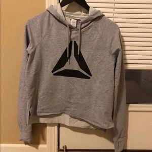 Reebok cropped hoodie